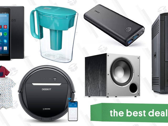 Tawaran Terbaik Senin: Anker Gear, Robotic Vacuums, $ 40 Tablet, dan Banyak Lagi