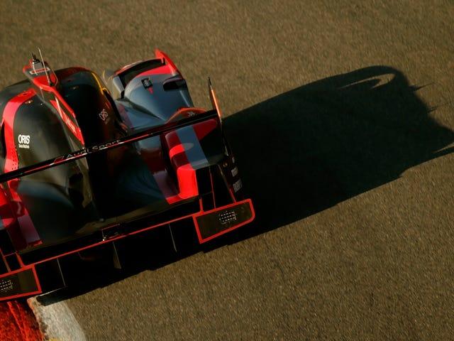 Ingen kommer att köra den nya Audi Le Mans bilen nu och det gör oss tråkiga