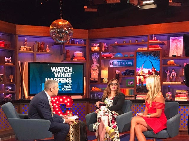A Few Anxious Hours in the WWHL Green Room With RHONY Rookie Tinsley Mortimer