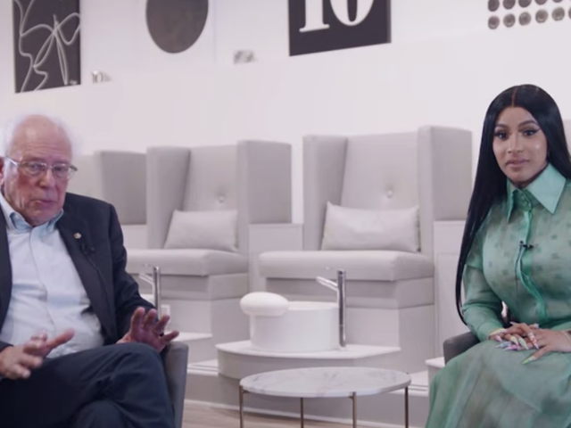 Watch Bernie Sanders talk insurance, student debt, and police brutality with Cardi B
