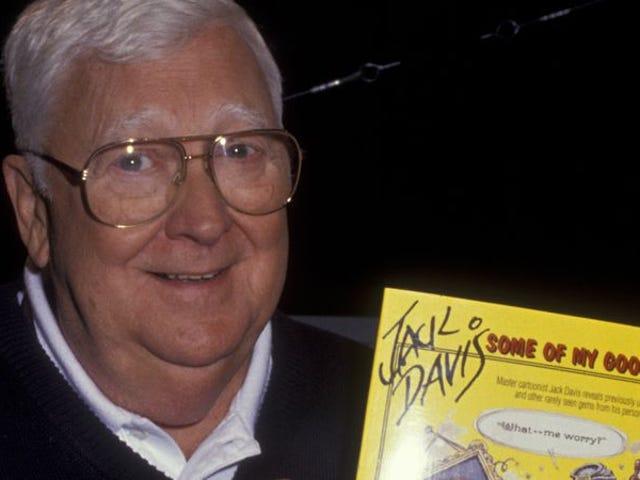 RIP Jack Davis, ilustrador para la revista MAD y Tales From The Crypt