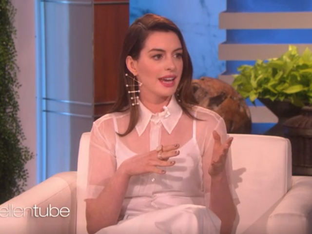 Anne Hathaway Quit Drinking For the Next '18 Years' Because She Hates Being Hungover