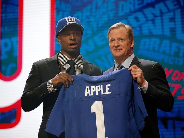 Top NFL-ontwerp Kies Eli Apple's Mom Snags Gig op ESPN
