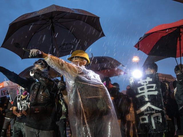 Suosituin verkkosivusto Hongkongin protestointien järjestämiseen DDoS-hyökkäyksellä
