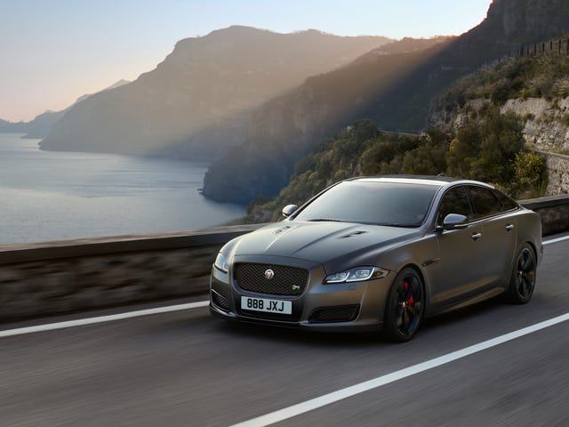 Jaguar's New XJR575 Can Hit 186 MPH In Just 44 Seconds