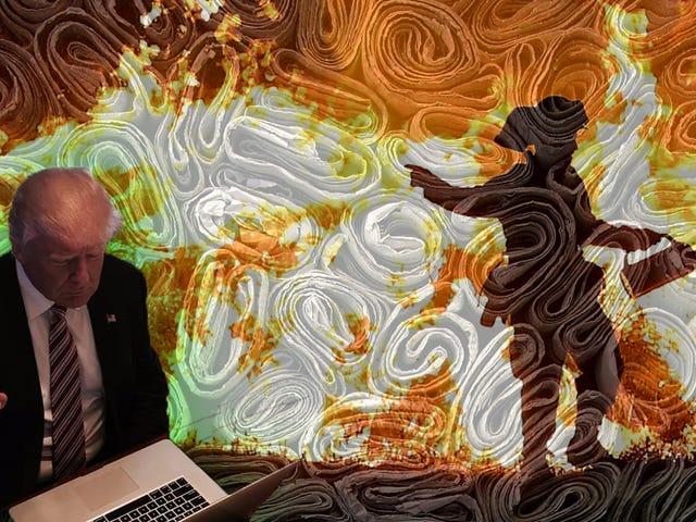 Trump: Ignorera tidningar, Läs Random Shit Online