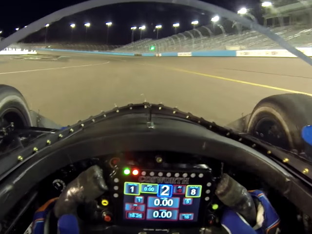 Here's What It's Like To Be In The Cockpit Of An Indycar