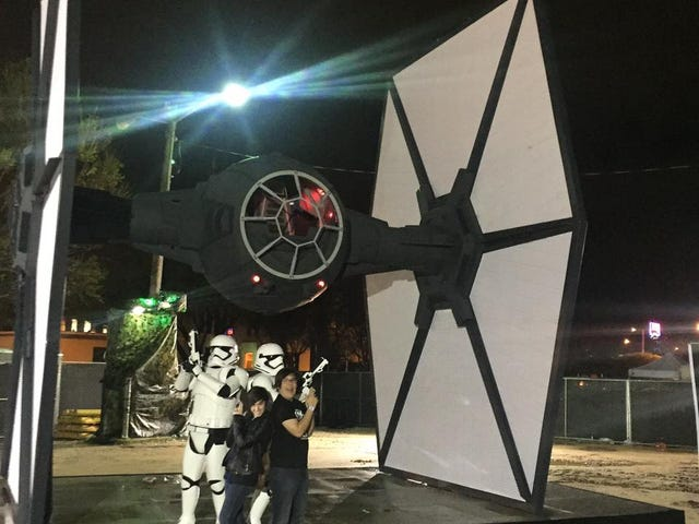 SXSW has a TIE Fighter and some Storm Troopers