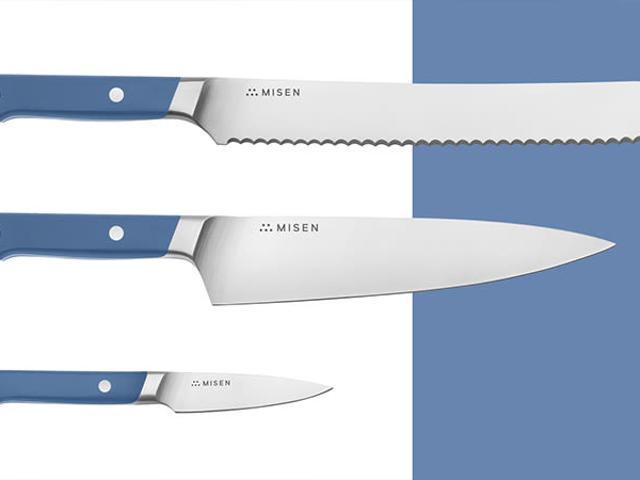 Сэкономьте 15% на новом наборе ножей Essentials Misen, ваше оборудование для кухни Go-To Kitchen