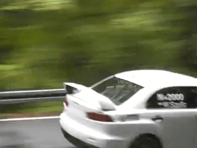 New Video Shows The Physics Of That Unbelievable Mitsubishi Evo Crash