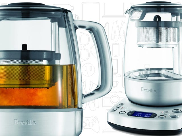 The Best Tea Steeper: Breville One-Touch