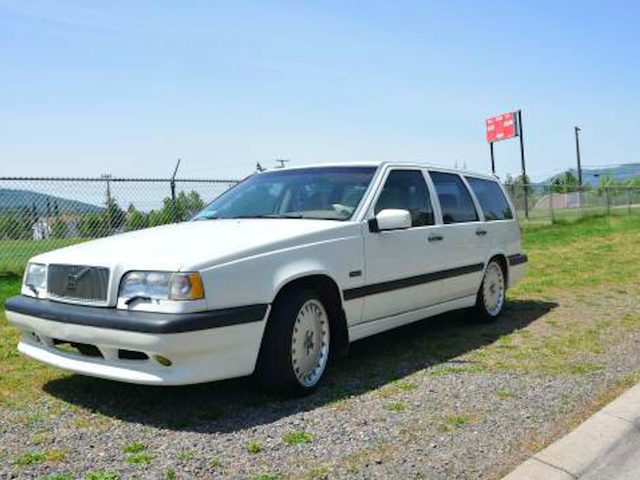 Boost Past The Competition With This 1997 Volvo 850R