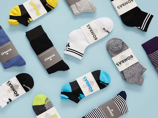 Get 20% Off Bombas: The Casual Sock Engineered For Comfort & Athletics<em></em>