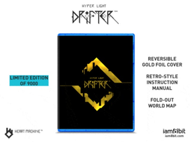 Hyper Light Blip: iam8bit has a physical PS4 version of Hyper Light Drifter Up - Ships as early as Monday