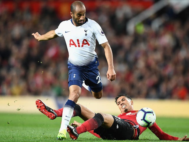 Lucas Moura Cooking Chris Smalling ist eine Metapher für Tottenhams Spanking Of Man United