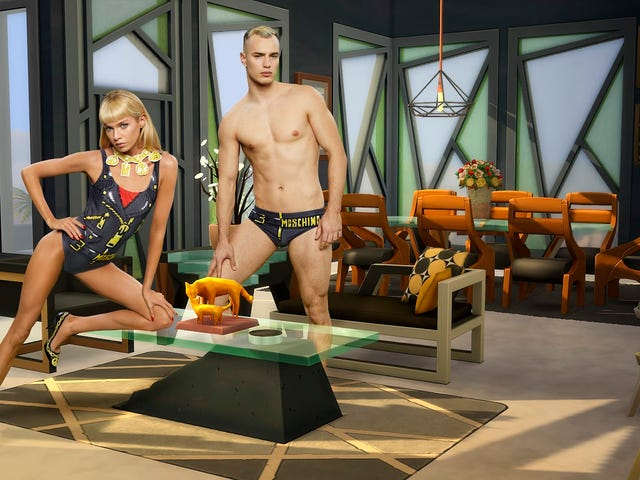 Moschino Is Releasing A Sims-Inspired Fashion Line And WTF At These Photos