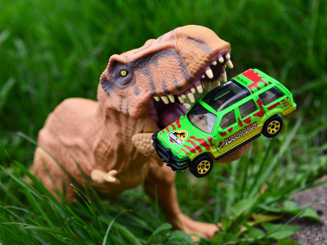 Selamat datang di Jungle: Matchbox Jurassic Legacy Collection