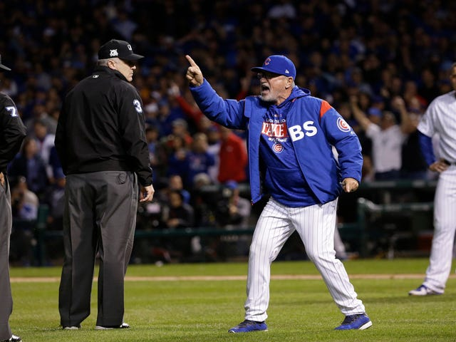 This Is The Arc Of Joe Maddon's Anger
