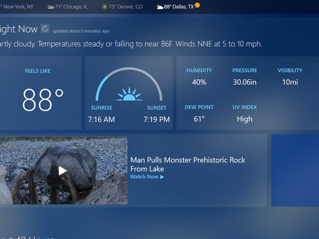 The Best Desktop Weather Apps