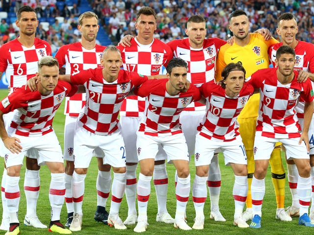 Dear Croatia, Please Wear Your Extra-Cool Checkerboard Kits In The World Cup Final [Update]