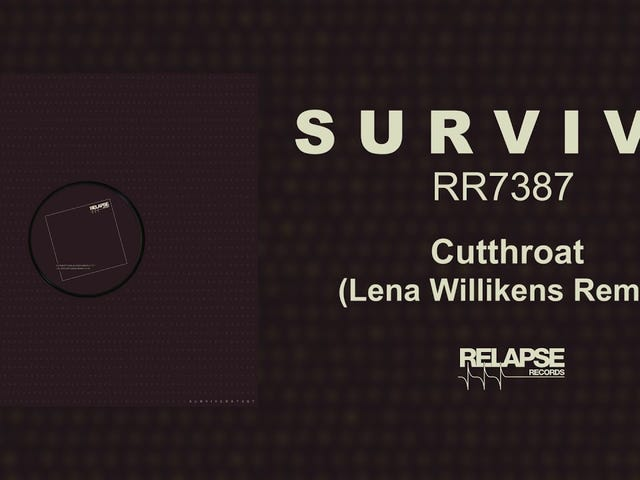 Pista: Cutthroat (Lena Willikens Remix) |  Artista: SURVIVE |  Álbum: RR7387