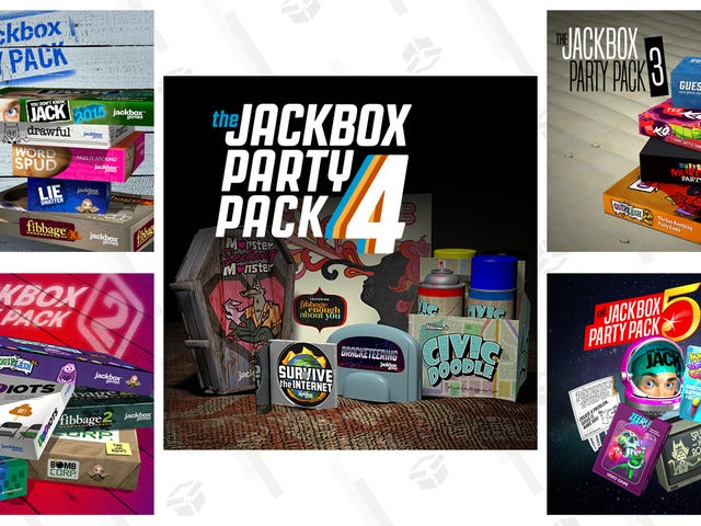 All of the Jackbox Party Packs, Ranked By Their Best Games