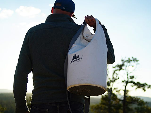 Bring A Day's Worth Of Drinks Anywhere In The All-In-One Dry Bag + Cooler (50% Off)
