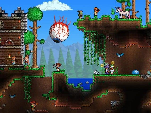 사이드 스크롤링 제작 게임 Terraria가 5 월 16 일 PC에서 최종 업데이트를 받고 있습니다