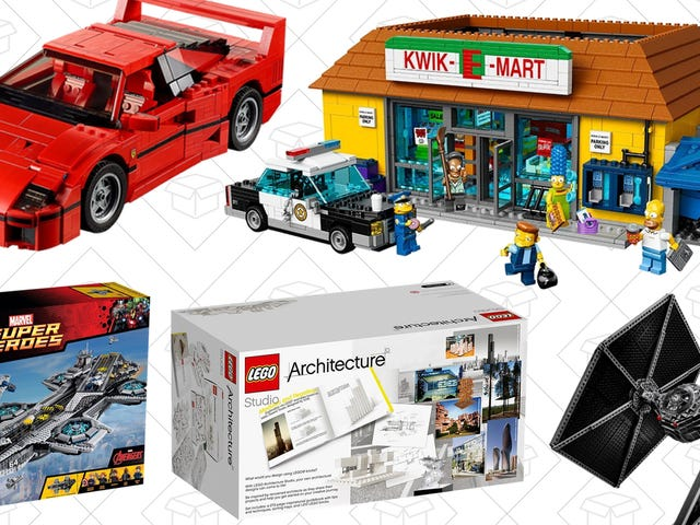 LEGOs Make The Perfect Gift, And Amazon Just Discounted Over 20 Sets