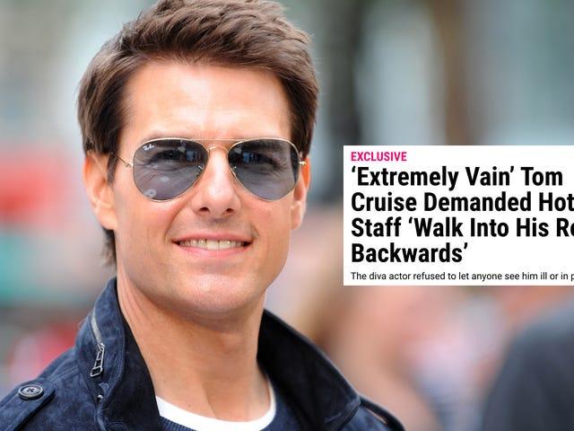 Rapor: Sadece Tom Cruise'un Otel Odasına Girebilirsin