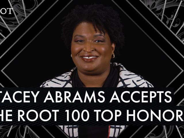 斯泰西·艾布拉姆斯(Stacey Abrams)在2019年度根100演講中發表鼓舞人心的接受演講