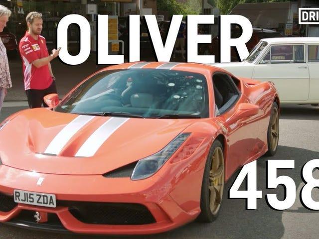 Oliver is alive