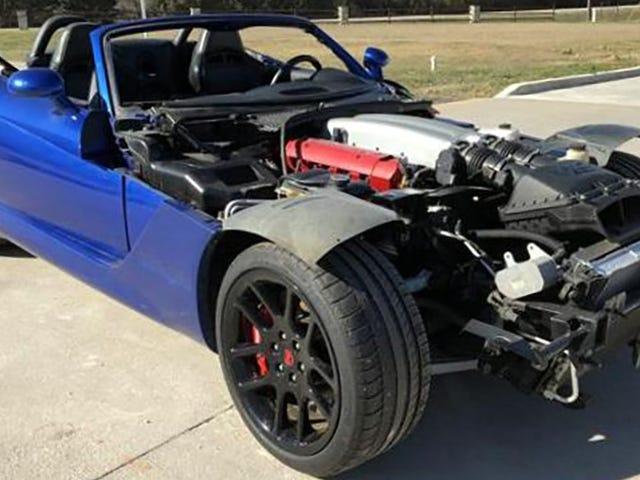 Jeg skal køre fra denne Dodge Viper Superleggera, Right? <em></em>