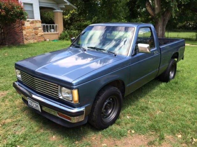I bought the cleanest S10 in the country.