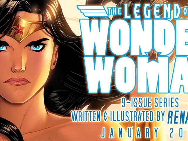Legend of Wonder Woman Brings a Great New Origin Story to Character