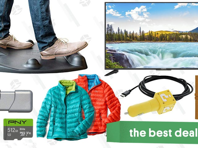 "<a href=""https://kinjadeals.theinventory.com/saturdays-best-deals-kindle-reads-l-l-bean-sale-sta-1831376705"" data-id="""" onClick=""window.ga('send', 'event', 'Permalink page click', 'Permalink page click - post header', 'standard');"">Saturday&#39;s Best Deals: Kindle Reads, L.L. Bean Sale, Standing Desk Mat, and More</a>"