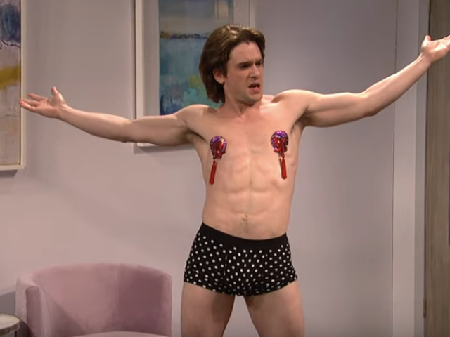 Kit Harington gives his all in an uneven but moderately ambitious Saturday Night Live