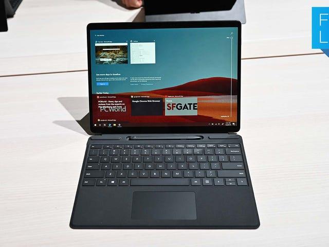 Surface Pro X er en rigtig stor aftale