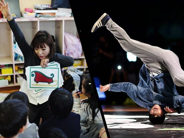 Sprawdź tego tancerza, który jest nauczycielem przedszkola w dzień i B-Girl At Night