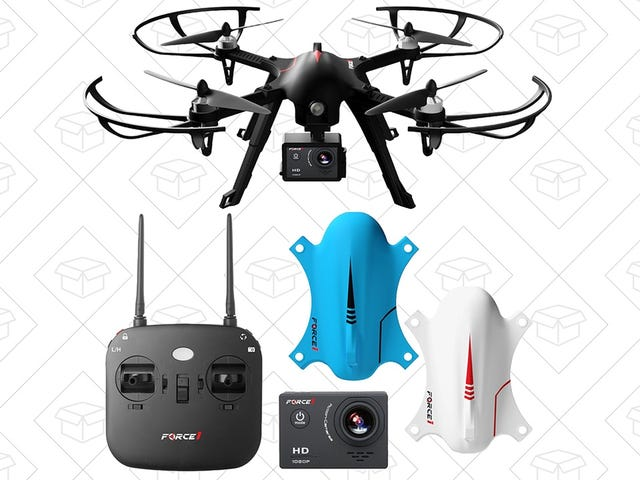 Take to the Skies With This $100, GoPro-Compatible Drone, Today Only