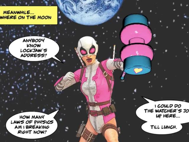 El nuevo servicio de Marvel puede ayudarlo a crear cómics, pero tiene algunos problemas potencialmente graves