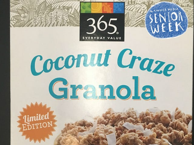 I Stole My Coworker Joanna's Granola and It Tasted Great (A Snack Diary)