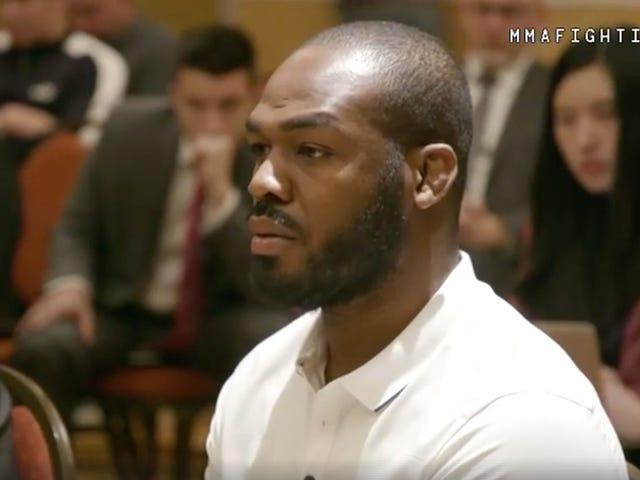 Jon Jones: My Manager Took Those Mandatory Anti-Doping Classes For Me