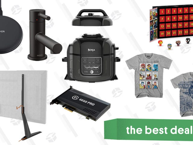 Wednesday's Best Deals: Marvel Advent Calendar, Tile + Echo Dot, Ninja Foodi, and More