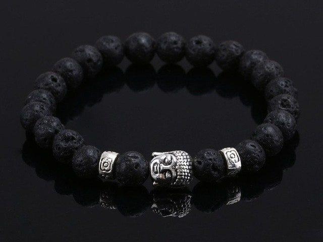 Ofertas de hoy en las pulseras de Buda de piedras naturales para mujeres y hombres