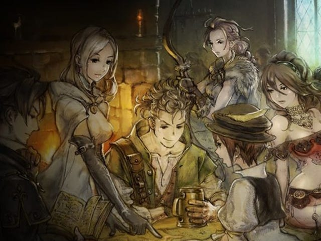Octopath Traveler's grinding isn't that bad