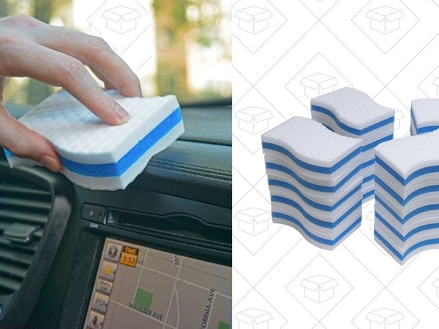 Snag 40 Magic Erasers For Just 38 Cents Each