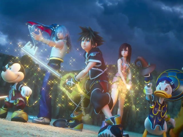 """Square-Enix has released the """"Opening Movie Trailer""""for Kingdom Hearts III. I guess that this is the thing that plays if you let the main menu idle too long? I'm going to be honest, this trailer is really good. And that song!"""