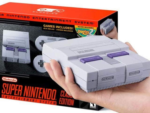 Nintendo Urges Public: Don't Pay More Than $80 for SNES Classic<em></em><em></em><em></em><em></em>