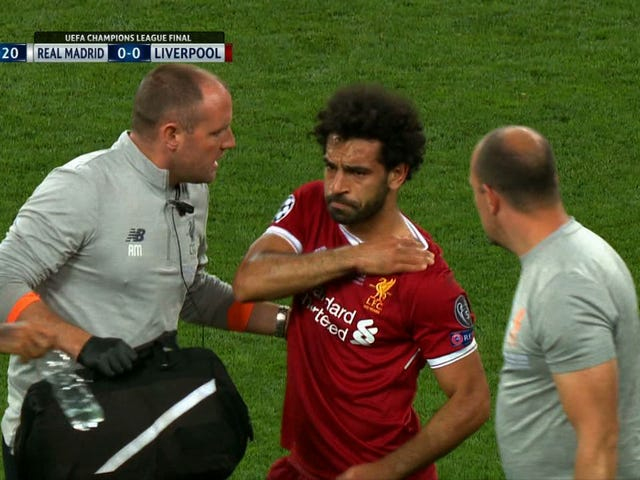 Reports: Dislocated Shoulder Could Knock Mohamed Salah Out Of The World Cup